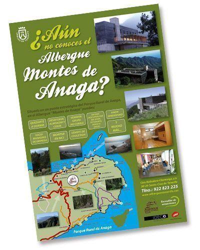 Cartel Albergue Montes de Anaga