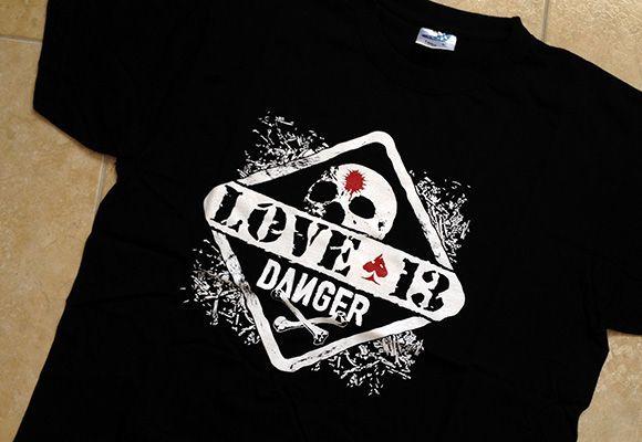 Ilustración para camiseta de Love 13