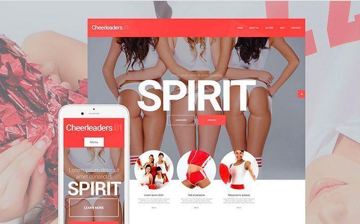 Tema WordPress Cheerleaders