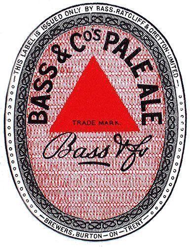 El primer logotipo registrado