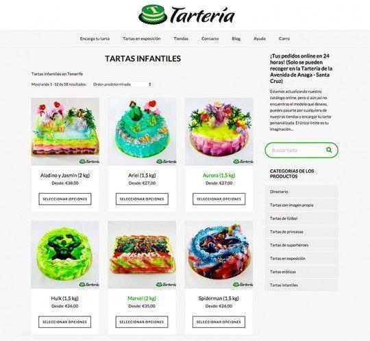 Página web de Tartería